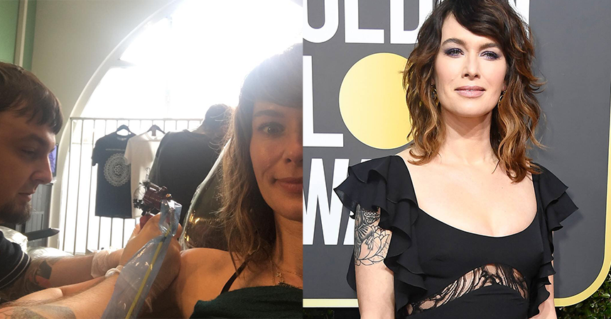 Lena Headey Discusses Her Love For Tattoos Snake Tiger